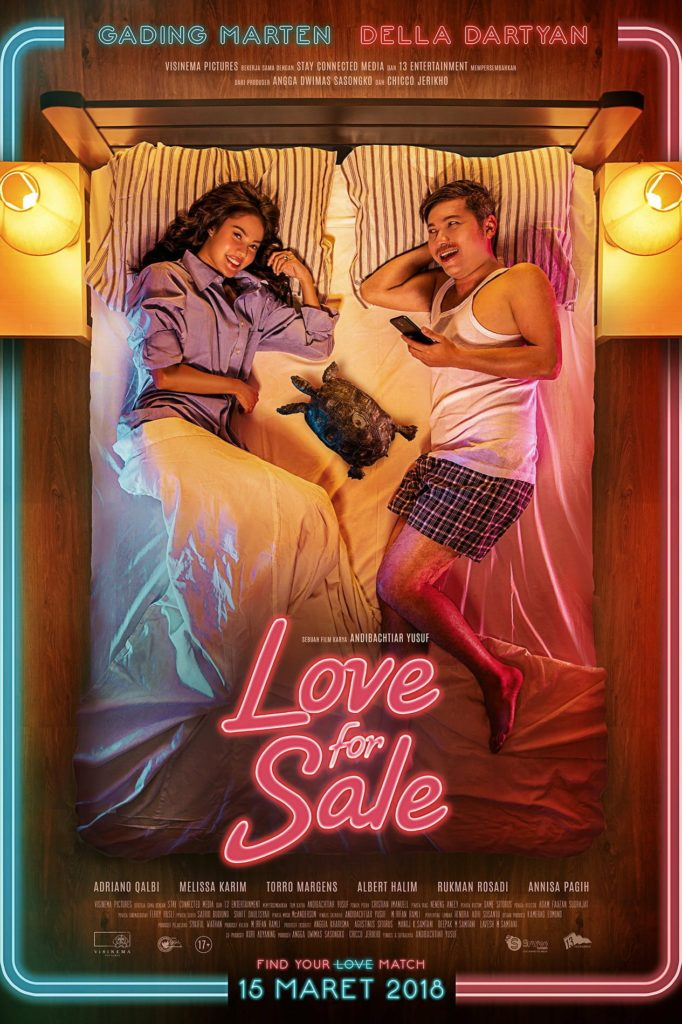 """Poster for the movie """"Love For Sale"""""""